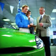 Car Salesman and a Customer